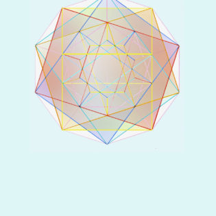 pentagondodecaeder met cubbussen er in
